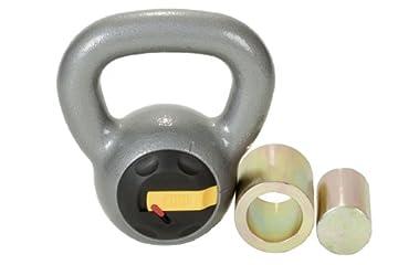 Rocketlock adjustable kettlebell