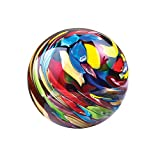 Dynasty Gallery Painter's Palette Paperweight, Multi-Colored Glass Paperweight Ball Orb Sphere