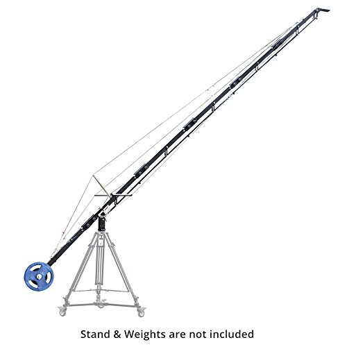 PROAIM 21ft Alphabet Professional Jib Boom Crane (P-A21-J) for DSLR Video Camera Camcorder up to 15kg/33lbs + Carrying Bag