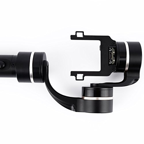 Feiyu Tech FY-G4S 3-Axis Gimbal for GoPro with 4 Way Joystick (Black)