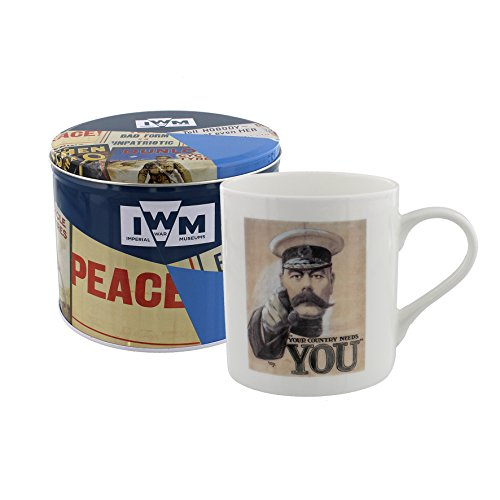 Your Country Needs You beker en tin cadeauset Imperial War Museum