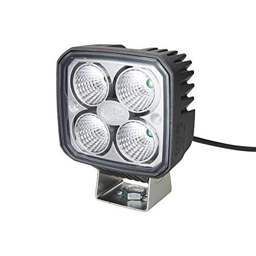 Hella 1GA 996 284-091 Arbeitsscheinwerfer - Q90 compact - LED - 12V/24V - 1200lm - Anbau/Bügelbefestigung - hängend/stehend - weitreichende Ausleuchtung - Deutsch