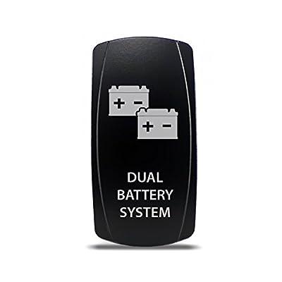 CH4x4 Rocker Switch Dual Battery System Symbol