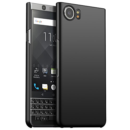 CiCiCat BlackBerry Keyone Hülle Handyhüllen, Hard PC Back Cover Hülle Schutz Hülle Tasche Schutzhülle Für BlackBerry Keyone. (BlackBerry Keyone 4.5'', Schwarz)