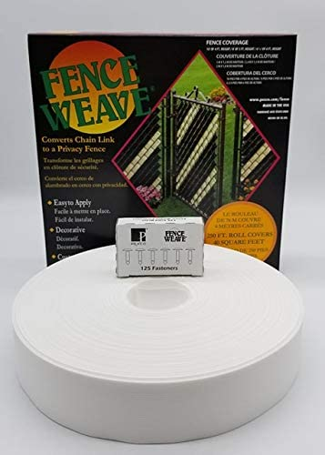 Pexco Large special price !! Brand Fence Weave 250' Roll White - in Award-winning store USA The Made