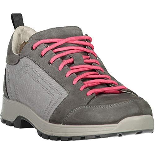 CMP Chaussures de Randonnée Chaussures D'Extérieur Atik Canvas WMN Hiking Chaussures Gris Léger Plaine - U739 Gris, 38 EU
