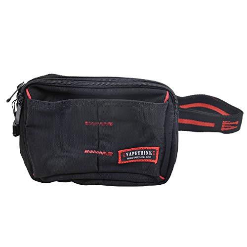 Vapethink Multi-pocket Tasche Multifunktions Vape Bag(L), Grosse Kapazität Halter Reise Kasten für E-Juice, Spulen Werkzeuge, Wasserdicht(Large)
