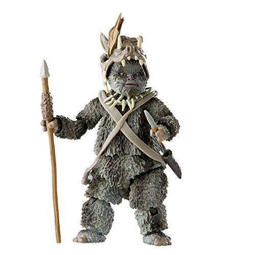 Star Wars The Black Series Teebo (Ewok) Spielzeug 15,2 cm groß Star Wars: Return of The Jedi Sammel-Actionfigur, Kinder ab 4 Jahren