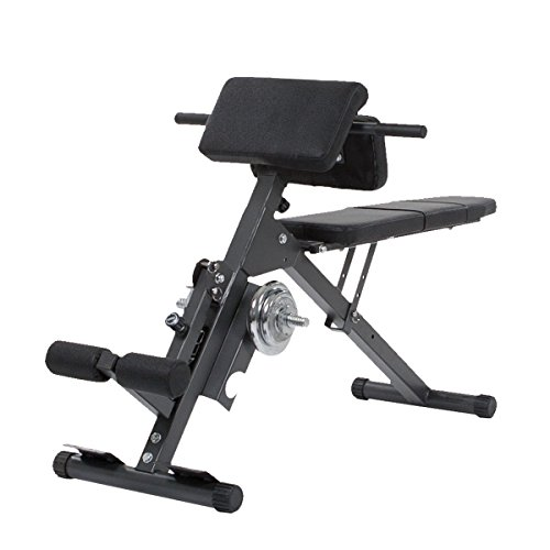 Finnlo Bauch Rckentrainer Ab and Back Trainer 3869, Schwarz