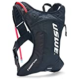 USWE Outlander 2L, Hydration Pack with 1,5L/ 50 oz Hydration Bladder, Black. Bounce Free.