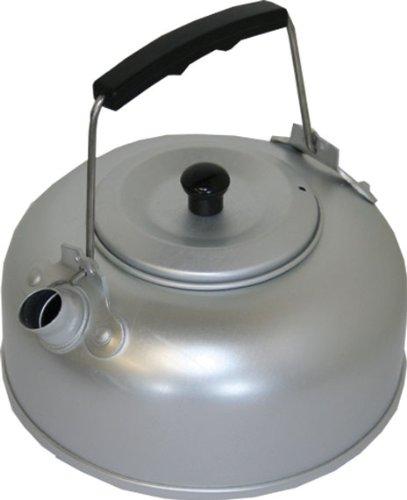 HIGHLANDER - Hervidor de Agua de Aluminio, Ultraligero, con Revestimiento antioxidante, Color Plateado, CP125