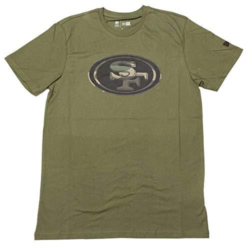 New Era Camo Logo Shirt - NFL San Francisco 49ers Oliv - XL