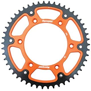 Supersprox Stealth Rear Sprocket 48 Tooth Orange for KTM 500 EXC-F 2017-2018