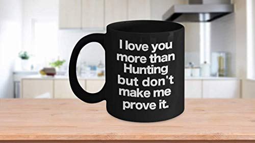 11 oz Coffee Mug, Tea Cup, Hunting Mug - Black Coffee Cup - Funny Gift for Dad, Grandpa, Uncle, Duck, Deer,