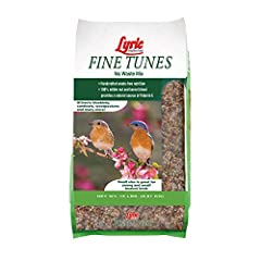 Hand-crafted, premium mix with all-natural nutrition to attract the widest variety of birds Finely cut blend, for smaller beaks - especially younger birds 100% edible nut and kernel blend that is a natural source of Vitamin E for bird health 6 nutrit...