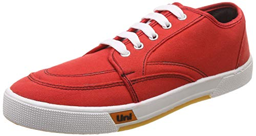 Unistar Men's Red Sneakers-8 UK/India (42 EU) (5014)