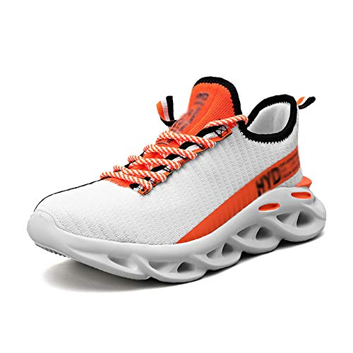 Calzado De Deportes de Exterior - Zapatillas De Deporte Zapatillas para Correr Atlético Caminar Respirable Ligero Cómodo Zapatillas de Deporte Casuales Zapatillas para Correr En Carretera Para Hombr