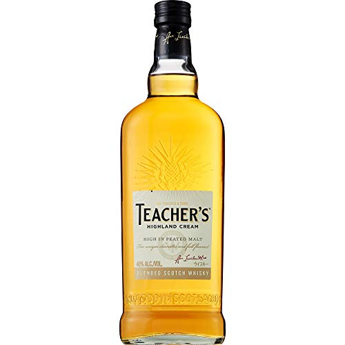Teacher's Blended Scotch Whisky, voller und rauchiger Geschmack, 40% Vol, 1 x 0,7l