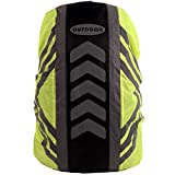 TOSSPER Coperchi Zaino Impermeabili 1pc, Zaino Riflettente per Protezione della Pioggia per Escursioni in Campeggio in Viaggio in Bicicletta 20-28l