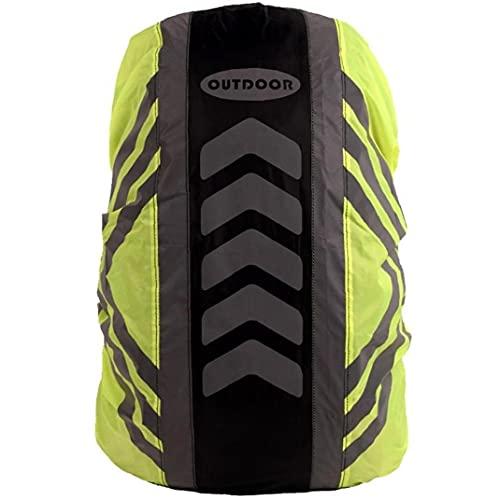 TOSSPER 1pc Cubiertas De Mochila Impermeable, Protección contra Protección De Lluvia Reflectante Mochila para Caminatas Camping Que Viaja Ciclismo 20-28l