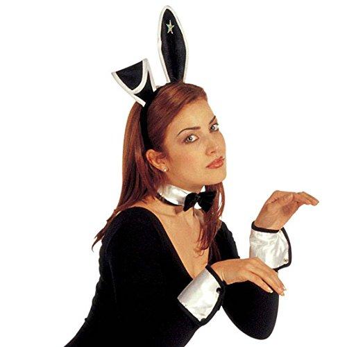 NET TOYS Costume Sexy de Lapin Bunny Set Petit Lapin Set de Bunny Playboy Costume de Bunny Mardi Gras fête Carnaval Costume de Lapin