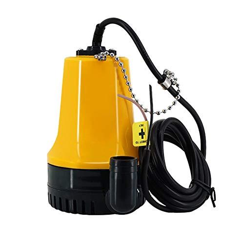 Nrpfall Bomba de Purga de 12 V Micro-DC Sumergible para riego agrícola, Bomba de Agua eléctrica portátil