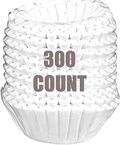 Coffee Filters, 8/12-Cup Size, 300/Pack (Authorization Seller)