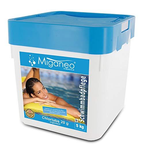 Miganeo® Chlortabs 20 g Poolchemie organisch, schnelllöslich (5 kg)