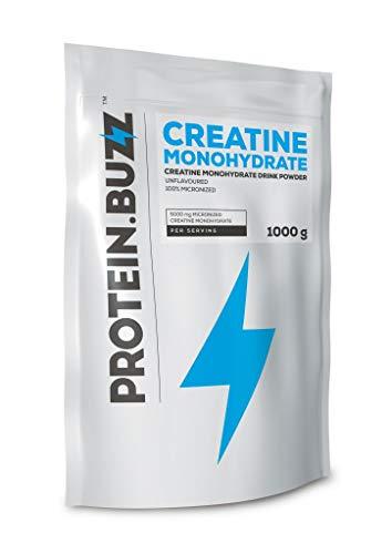Protein Buzz Creatine Monohydrate, 1KG Beutel