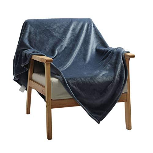 HALOUK Verano Franela Manta,Ligera Suave Transpirable Acogedora Manta De Cama Mantas para Decoración del Hogar Interior Exterior-E-160×120cm(63×47inch)