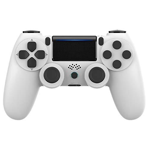 Wireless PS4 Controller für PS4/PS4 Slim/PS4 Pro, Gamepad mit Dual Vibration und Audio Jack Controller