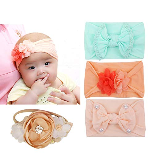 Set of 6, Subesty Baby Girls Nylon Headband -$9.99(50% Off)