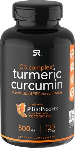 Sports Research Turmeric Curcumin C3 Complex