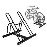 INION MHBB5012 - Fahrradhalter für 2 Fahrräder Fahrradständer Freistehend Montageständer Reparaturständer Fahrradparkplatz Ständer