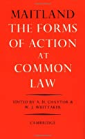 The Forms of Action at Common Law