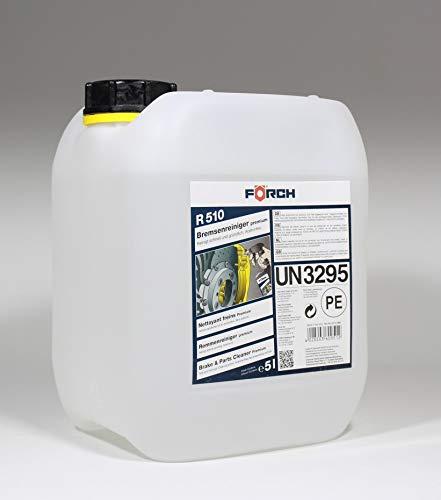 Förch 5 Liter Bremsenreiniger und Teilereiniger Premium R510 Acetonfrei