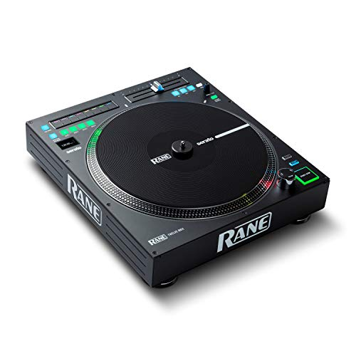 RANE DJ Twelve MKII | 12-Inch Motorized Vinyl Like MIDI Turntable with USB MIDI & DVS Control for Traktor, Virtual DJ & Serato DJ (TWELVEMKII)