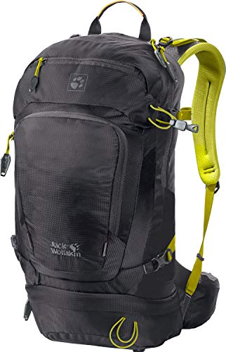 Jack Wolfskin Satellite 24 Pack Rucksack, Ebony, ONE Size