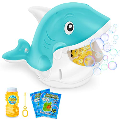 Automatic Bubble Blower with Bubble Solution Now $9.99 (Was $19.99)