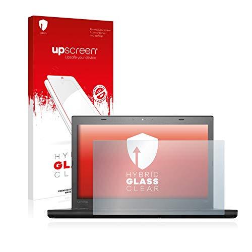 upscreen Hybrid Glass Panzerglas Schutzfolie kompatibel mit Lenovo ThinkPad T460 UltraBook 9H Panzerglas-Folie