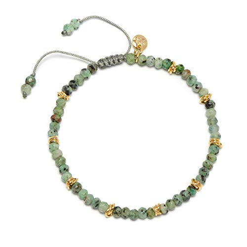 Lola Rose Aspley Bracelet Dapple Green Quartzite