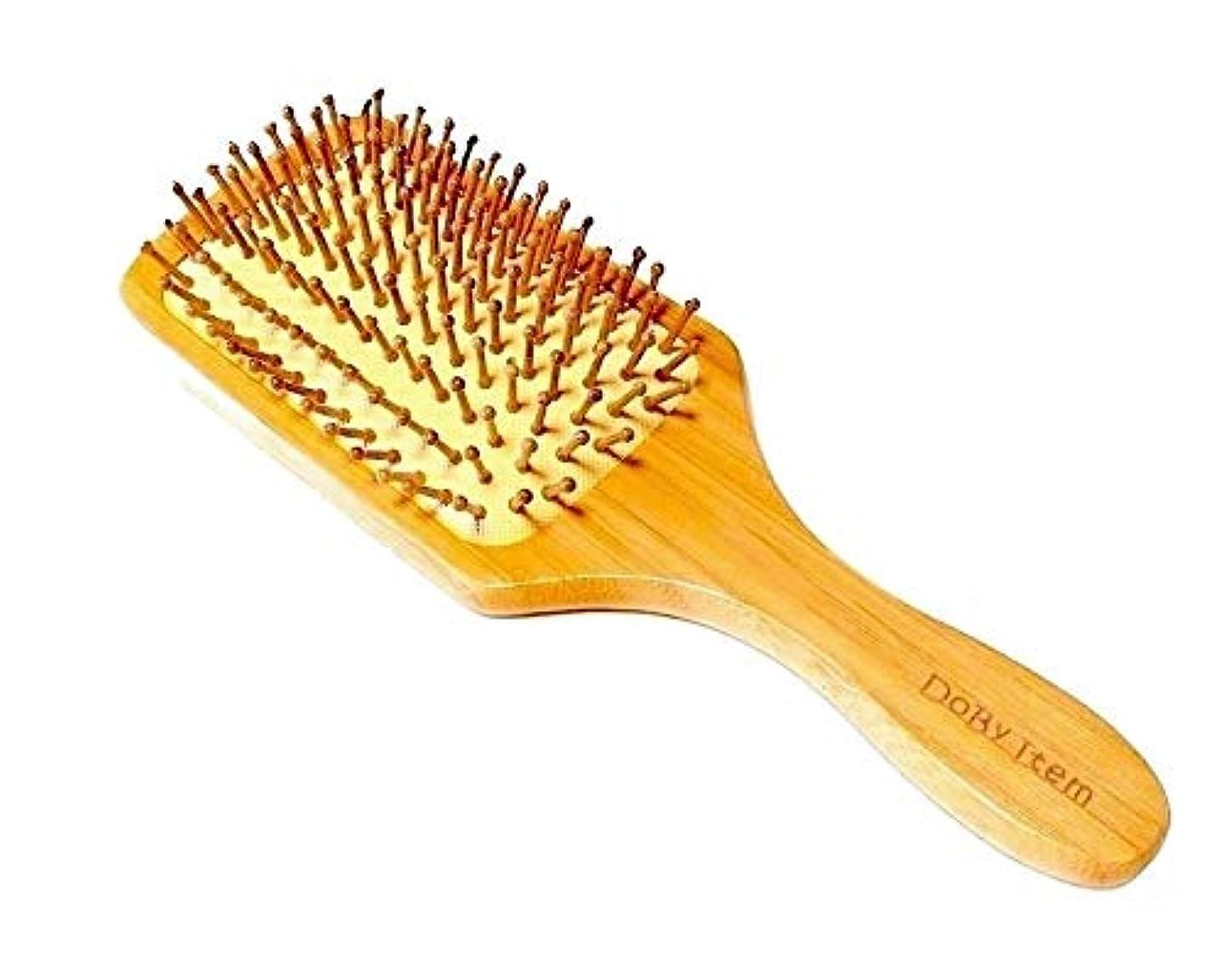 分析アルコールの面ではDobyitem 木製 ヘアブラシ パドル ブラシ 頭皮マッサージ 美髪効果 (大きめブラシ&クリーナーセット)