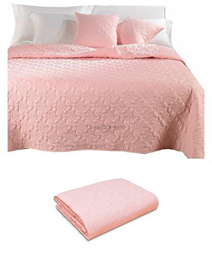 Couvre-lit matelassé pour lit Double Rose