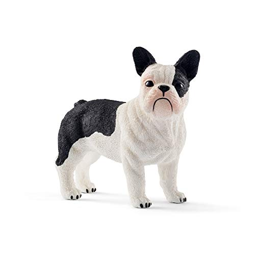 SCHLEICH Farm World, Animal Figurine, Farm Toys for Boys and Girls 3-8 Years Old, French Bulldog