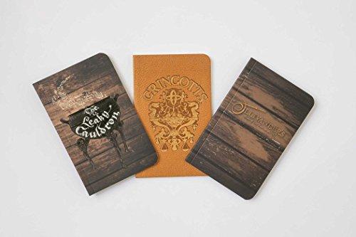 Harry Potter. Diagon Alley Pocket Journal Collection: Set of 3 (Harry Potter Journal Collectn)
