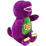 Singing Friends Purple Dinosaur Barney Singing I Love You Song Children's Plush Doll Toy 30cm