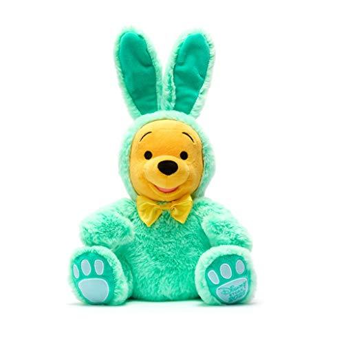 Disney Store Peluche Orso Winnie The Pooh Coniglietto Pasquale Peluche Morbido Verde Originale Ed. 2021