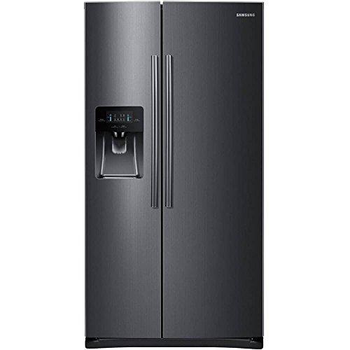 Samsung RS25J500DSG 25 cu. ft. Black Stainless Side-by-Side Refrigerator