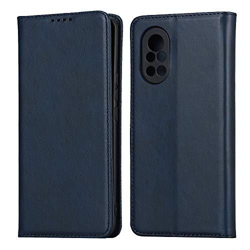 Funda con tapa para Huawei Nova 8 5G (azul)