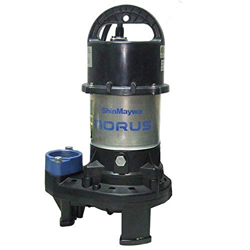 ShinMaywa Norus 5700 GPH 1/2HP Submersible Garden Pond Waterfall Pump | 50CR2.4S